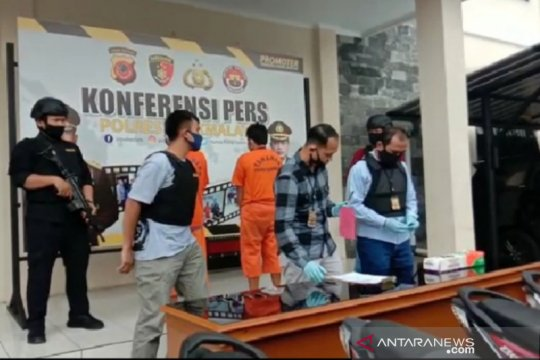 Polisi tangkap napi asimilasi curi sepeda motor di Tasikmalaya