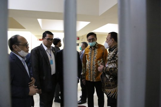 Nawawi: tidak ada pembahasan detail perkara dengan Komisi III DPR