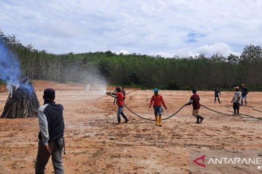 Polres Tebo tangkap dua warga pelaku pembakar lahan