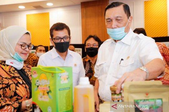 Luhut minta BPOM sederhanakan proses pencantuman logo produk Indonesia