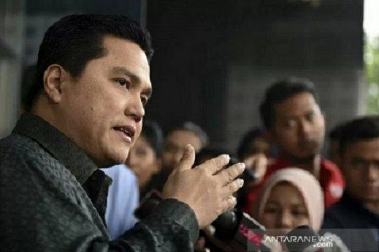 Erick Thohir sambangi KPK diskusi Pemulihan Ekonomi Nasional