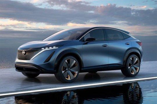 """""""Crossover"""" listrik Nissan Ariya hadir 15 Juli ini"""