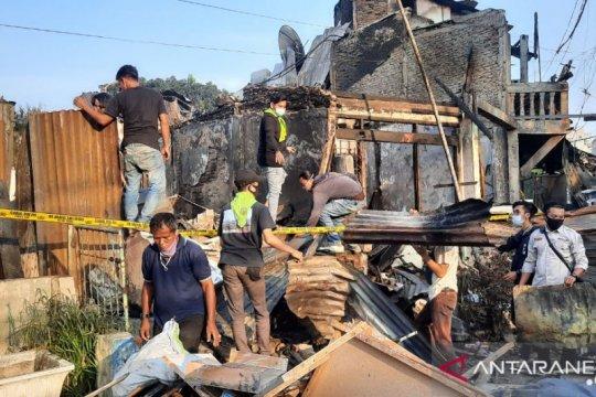 40 KK kehilangan tempat tinggal akibat kebakaran di Jalan Minangkabau