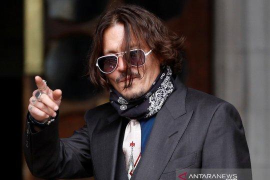 "Johnny Depp murka ketika tato ""Wino Forever"" ditertawakan Amber Heard"