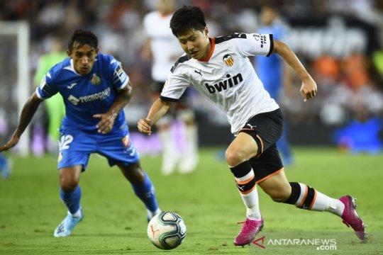 Valencia akhirnya rasakan kemenangan lagi, atasi Valladolid 2-1