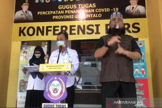 Sepuluh orang positif COVID-19 di Gorontalo, satu meninggal