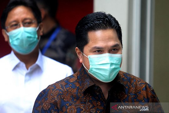 Erick Thohir: Selama vaksin belum ada, normal baru harus dihadapi