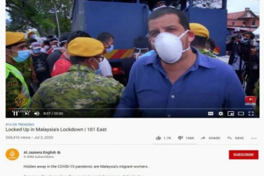 Polisi Malaysia panggil Al Jazeera