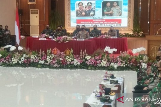 Presiden ingatkan capaja TNI-Polri konsisten kepada ideologi negara