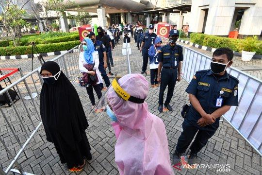 Penambahan kasus COVID-19 di DKI Jakarta tertinggi