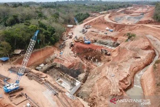 Jalan tol Bengkulu - Sumsel seksi I baru tersambung 6,5 kilometer