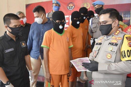 Polisi ungkap jaringan peredaran uang palsu di Bogor
