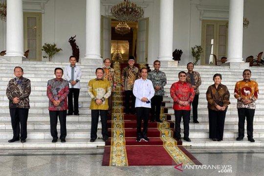 Kemarin, Presiden bertemu MPR hingga waspada gangguan kedaulatan