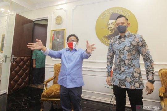 Kunjungan politik AHY ke Cak Imin