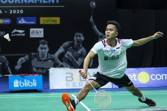 Kalahkan Gemke, Anthony Sinisuka Ginting ke semifinal Thailand Open