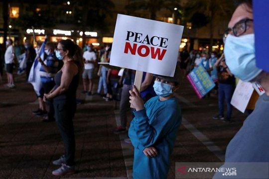Kemunculan virus corona kesampingkan rencana aneksasi Israel