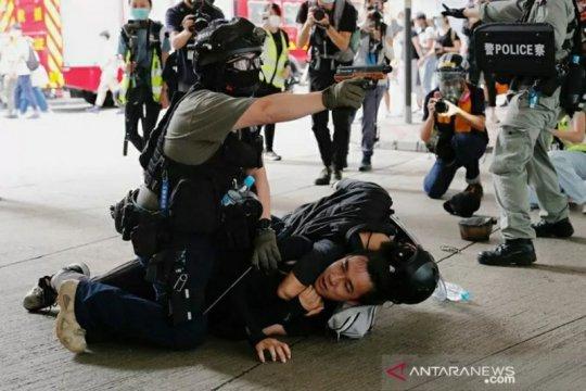 UU keamanan baru berlaku di Hong Kong, kepolisian geledah HKPORI