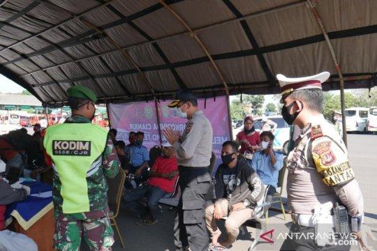 Dinkes Cianjur : Hasil tes cepat di terminal 100 persen nonreaktif
