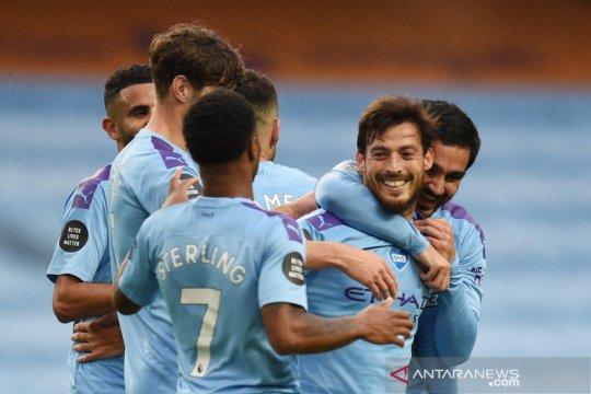 Liga Inggris : Manchester City bantai Newcastle 5-0