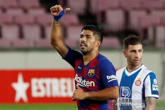 Barcelona menang tipis 1-0 atas Espanyol