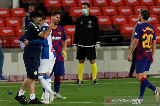 Klasemen Liga Spanyol setelah Barcelona kirim Espanyol ke kasta kedua