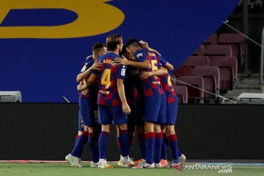 Barcelona menangi Derbi Catalunya, pastikan rival sekota terdegradasi