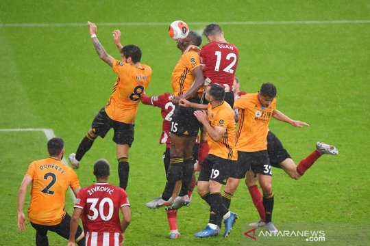Menang dramatis atas Wolverhampton, Sheffield United dekati zona Eropa