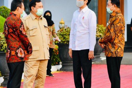 Presiden ke Kalteng tinjau Food Estate dan Posko Penanganan COVID-19
