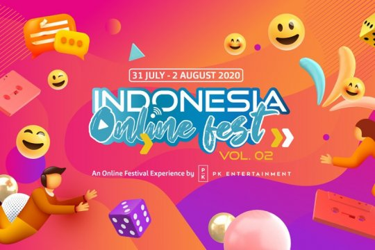 """Indonesia Online Fest Vol.02"" siap digelar mulai 31 Juli"