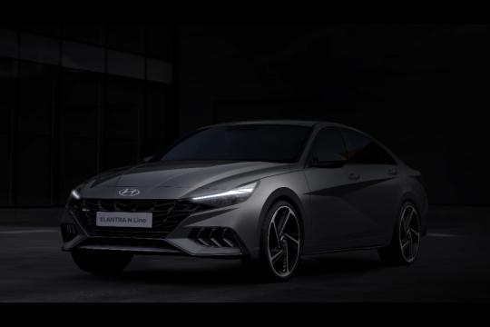 Hyundai ingin dongkrak penjualan lewat Elantra Avante N Line