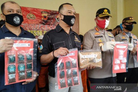 Polresta Bogor Kota ungkap 19 kasus narkoba dengan 24 tersangka