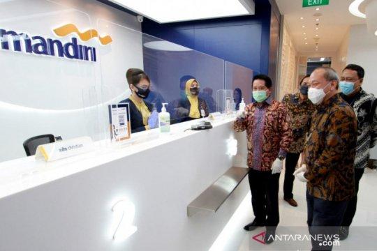 Bank Mandiri genjot penyaluran kredit UMKM melalui platform digital