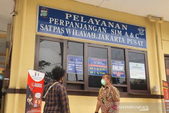 Polda Metro Jaya sediakan empat lokasi layanan SIM Keliling
