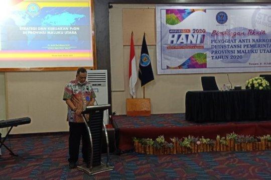 BNNP Malut sebut 76 NPS baru beredar di masyarakat Indonesia