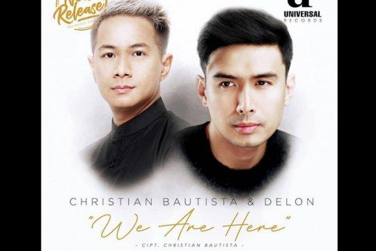 """Delon kolaborasi dengan Christian Bautista di lagu """"We Are Here"""""""