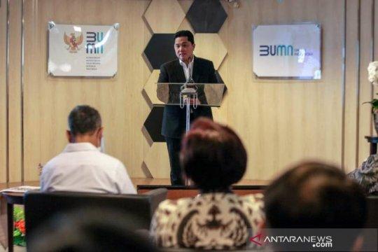 Erick Thohir rombak Direksi dan Dewan Pengawas Perum Perindo