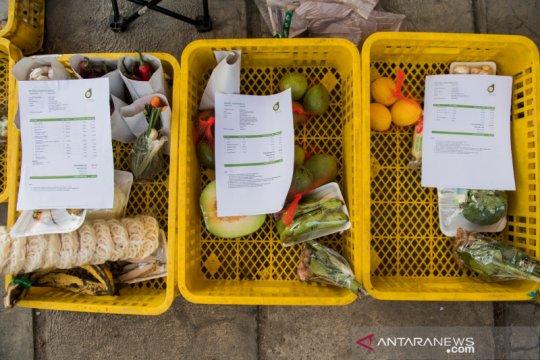 Layanan belanja daring bahan pangan