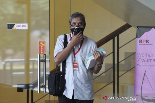 KPK periksa mantan Deputi Politik Hukum dan Hankam Bappenas
