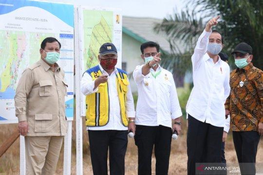Presiden Jokowi jawab keluhan tenaga medis di Kalimantan Tengah