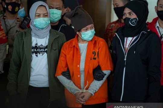 Tiba di Indonesia, Maria Pauline Lumowa diserahkan ke Bareskrim Polri