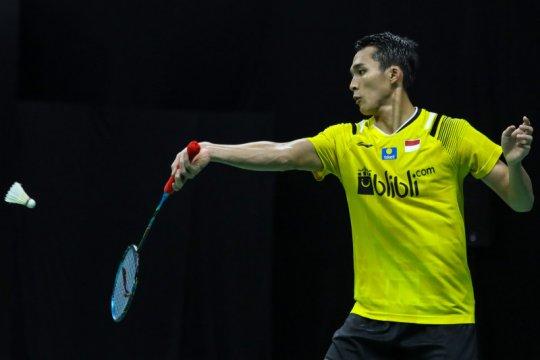 Jonatan jadi tunggal putra pertama lolos ke babak kedua Thailand Open