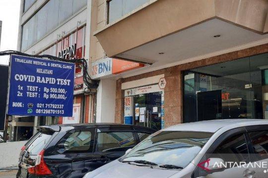 "Klinik di Kemang kenakan tarif ""rapid test"" di atas ketentuan Kemenkes"