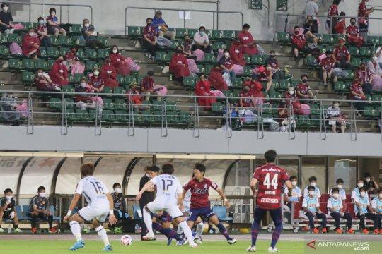 Laga Okayama kontra Kitakyushu tandai kembalinya suporter ke stadion