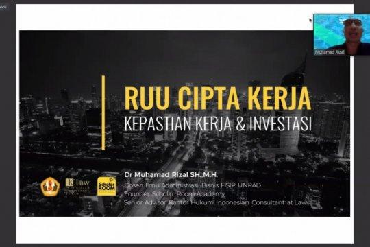 Pengamat sebut RUU Cipta Kerja jamin fleksibilitas investor