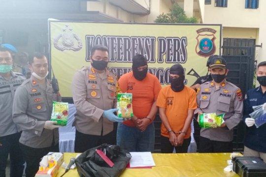 Polisi gagalkan peredaran tiga kilogram sabu di Medan