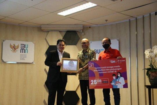 Telkomsel salurkan CSR Rp4,5 miliar bagi tenaga medis COVID-19