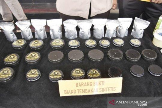 Polisi bongkar produksi tembakau sintetis di Tajurhalang Bogor