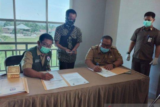 7.863 anggota panitia ad hoc pilkada jalani tes cepat di Sukabumi