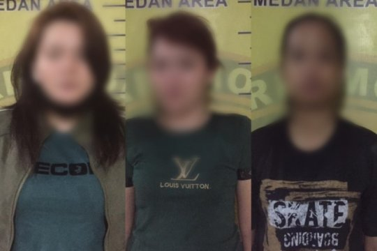 Polisi tangkap tiga pengedar sabu-sabu di Medan