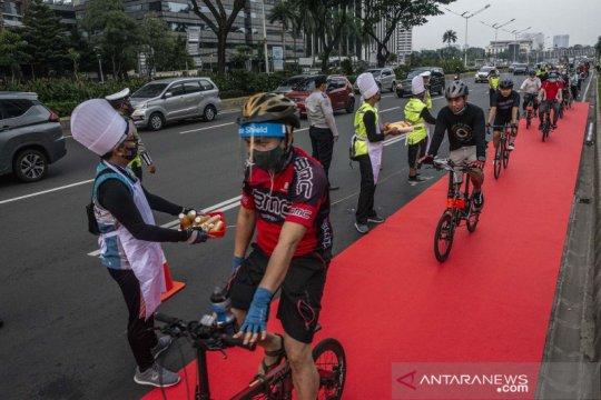 Aksi simpatik komunitas B2W Indonesia